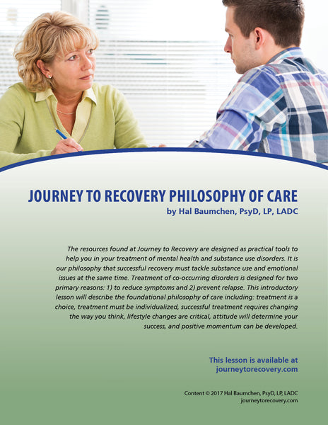 Journey to Recovery Philosophy of Care