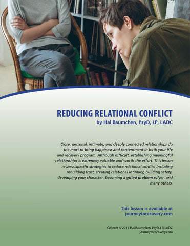 Reducing Relational Conflict