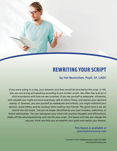 Rewriting Your Script