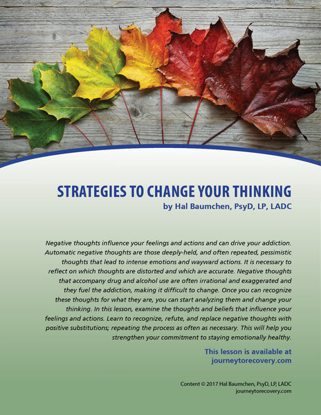 Strategies to Change Your Thinking