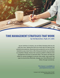 Time Management Strategies that Work
