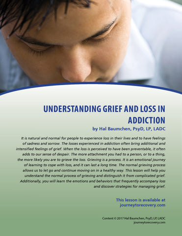 Understanding Grief and Loss in Addiction