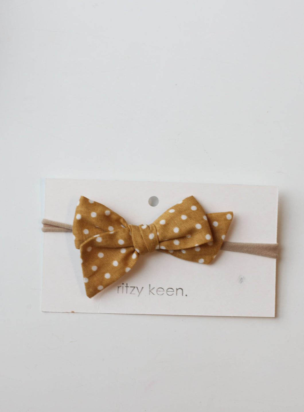 Ritzy Keen Polka Dot Bow Headband