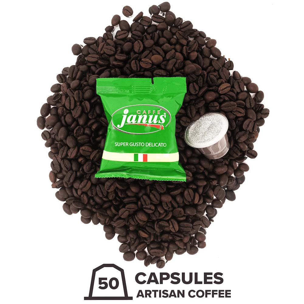 Janus SUPER Gusto Delicato Nespresso compatible capsules espresso single serve