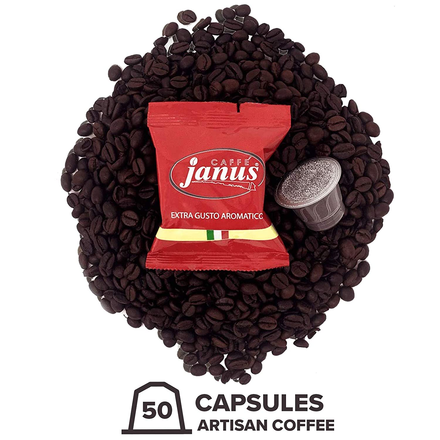 Janus EXTRA Gusto Aromatico Nespresso compatible capsules espresso single serve
