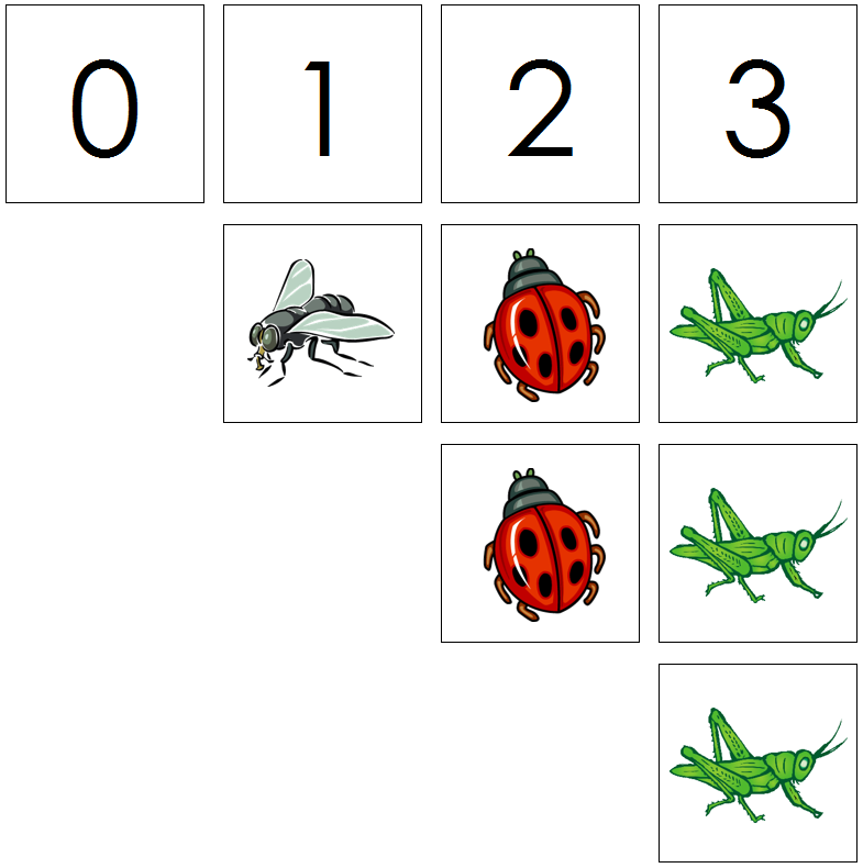 insect numbers & counters - Montessori Print Shop