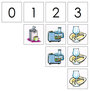Number Cards & Kitchen Counters - Montessori Print Shop Math