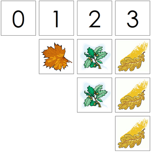 leaf numbers & counters - Montessori Print Shop