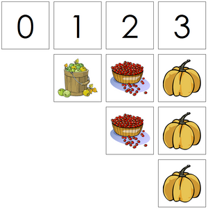 thanksgiving numbers & counters - Montessori Print Shop