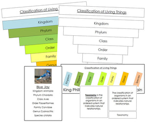 Six Kingdoms of Life Classification Concepts - Montessori Print Shop