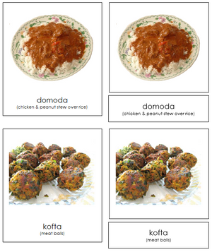 African Food - Montessori Print Shop