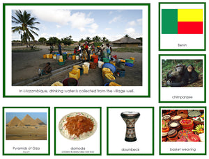 Africa Geography Bundle - Montessori Print Shop