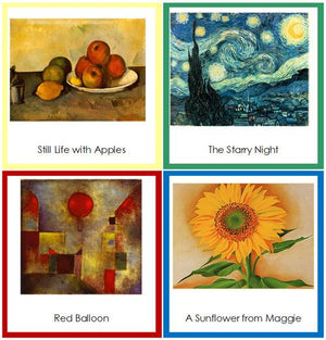 Art Cards Bundle - Montessori Art Cards