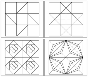 Geometric Art Patterns (Set 1) - Montessori Print Shop