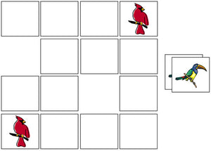 Bird Match-Up & Memory Game - Montessori Print Shop