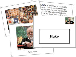 Peter Blake Art Book - montessori art materials