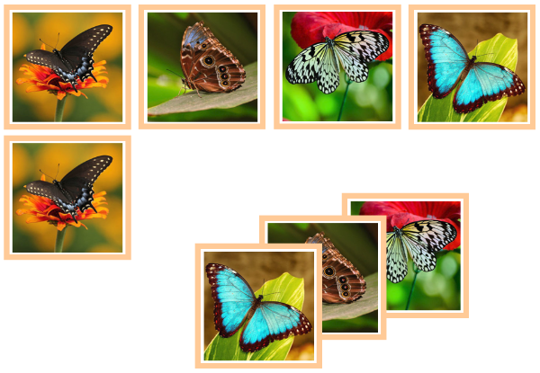 butterfly matching cards - Montessori Print Shop