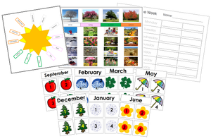 Calendar Cards Bundle - Montessori Print Shop