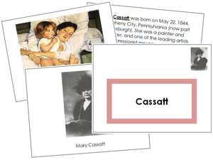 Mary Cassatt Art Book (border)