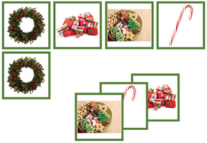 Christmas matching cards - Montessori Print Shop