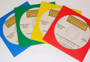 Montessori Print Shop CD Rom Collection - printable Montessori materials