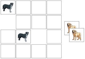 Dog Match-Up & Memory Game - Montessori Print Shop