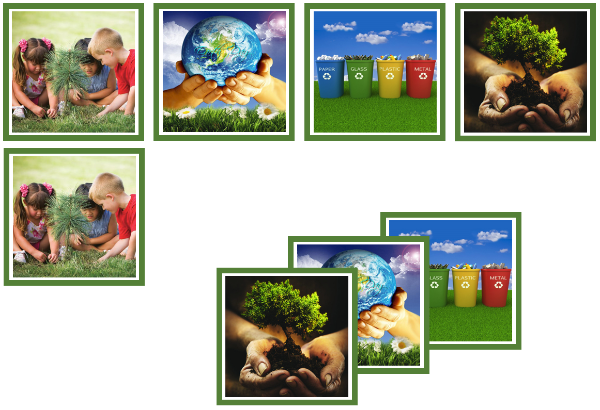 Earth Day matching cards - Montessori Print Shop
