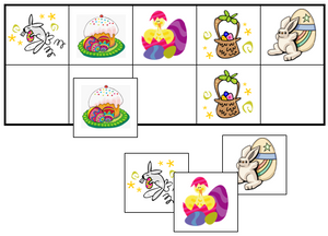 Easter Match-Up & Memory Game - Montessori Print Shop