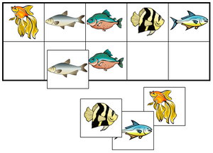 Fish Match-Up & Memory Game - Montessori Print Shop