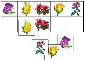 Flower Match-Up & Memory Game - Montessori Print Shop