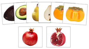Fruit: Inside and Outside - Montessori Print Shop preschool matching cards