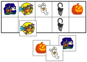 Halloween Match-Up & Memory Game - Montessori Print Shop