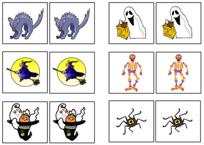 halloween match up memory game montessori print shop montessori print shop usa