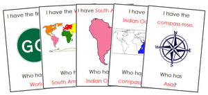 I Have, Who Has? World Geography - Montessori Print Shop