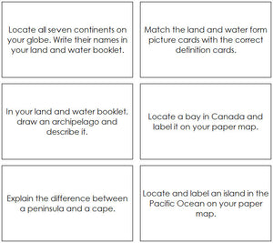 Land & Water Forms Bundle