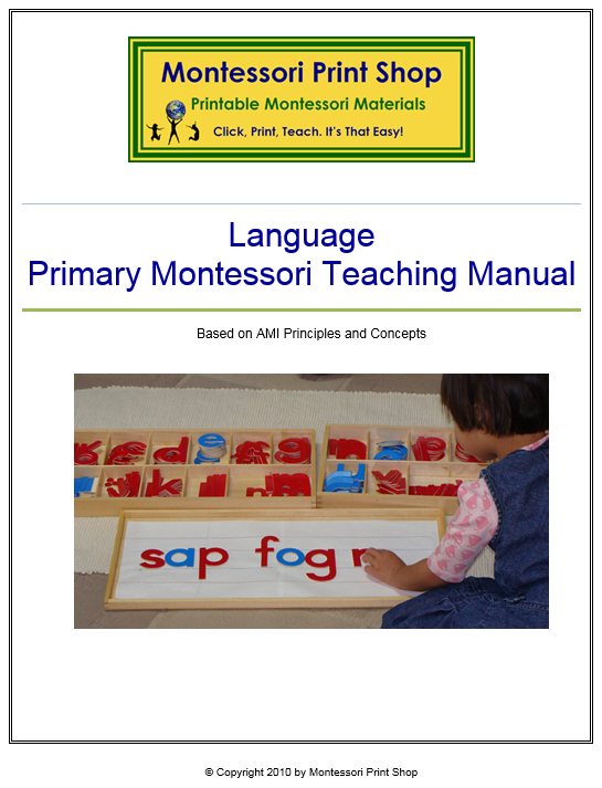 Primary Montessori Language Teaching Manual