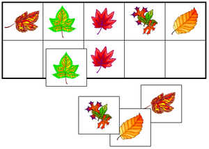 Leaf Match-Up & Memory Game - Montessori Print Shop