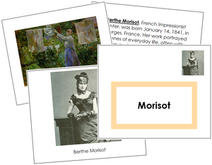 Berthe Morisot Art Book - montessori art materials