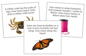 Multiplication Word Problems - Montessori Print Shop