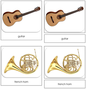 Musical Instruments - Safari Toob Cards