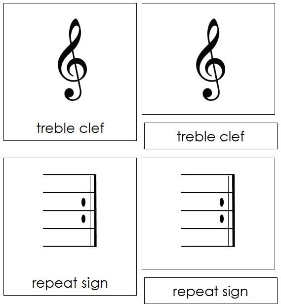 image about Printable Music Notes Symbols named Musical Notes Symbols - Playing cards