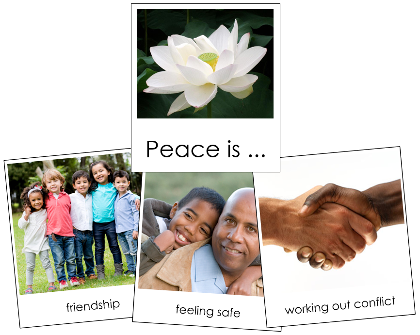 Peace Is ... Montessori Print Shop