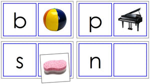 Phonetic Matching Cards Set 2