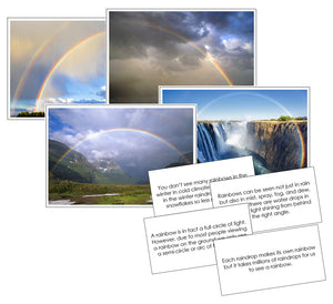 Rainbow Pictures & Fast Facts - Montessori Print Shop science materials