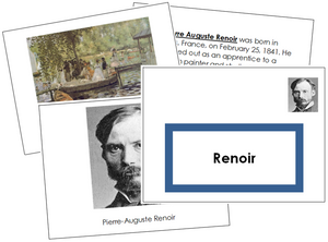 Pierre-Auguste Renoir Art Book (border)