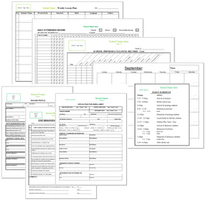 Montessori School Administrative Forms - Montessori Print Shop