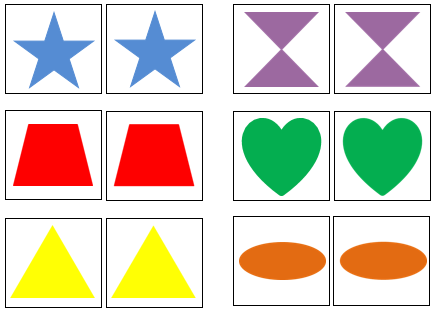 preschool Shape & Color Matching Cards