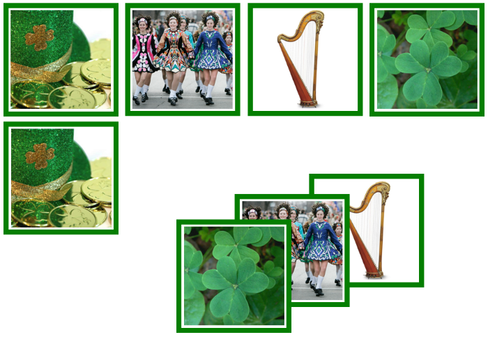 St. Patrick's Day Matching Cards - Montessori Print Shop