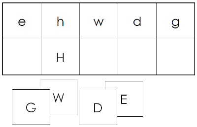 Upper & Lower Case Letter Match