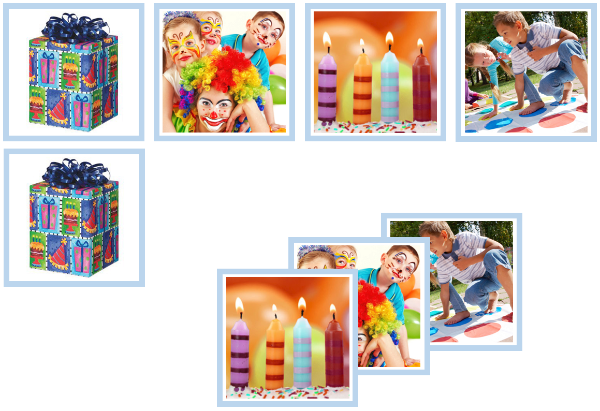 birthday matching cards - Montessori Print Shop